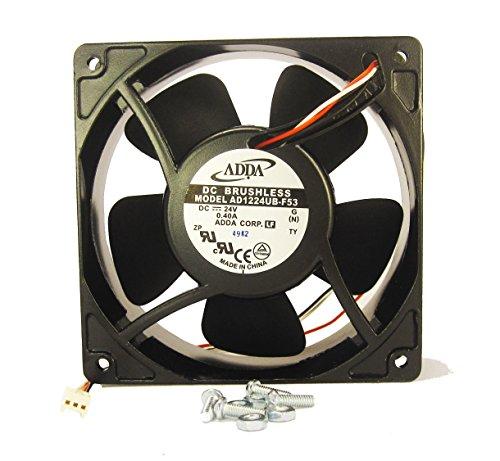 120mm 38mm New Case Fan 24V 120CFM Cooling Ball Be...