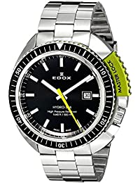 Men's 53200 3NVM NIN Hydro Sub Analog Display Swiss Quartz Silver Watch