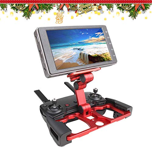 RDtech Aluminum Foldable Bracket, Adjustable Stand Holder Extender Remote Controller Holder Compatible for Mavic 2 Pro/Mavic 2 Zoom/Spark/Mavic Air/Mavic Pro Remote Controller