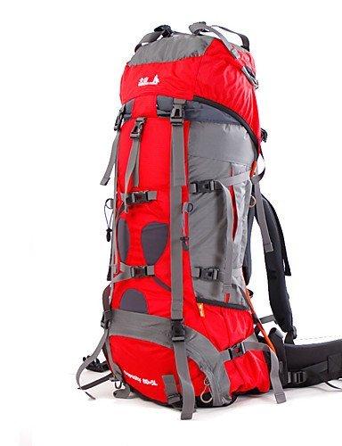 XH@G 85 L Rucksack Camping & Wandern / Klettern / Legere Sport / Reisen OutdoorWasserdicht / Schnell abtrocknend / Regendicht / Staubdicht /