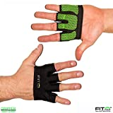 The Gripper Glove | Callus Guard Workout Gloves by Fit Four for Weightlifting & Cross Training Athletes - Enhanced Silicone Grip Palm