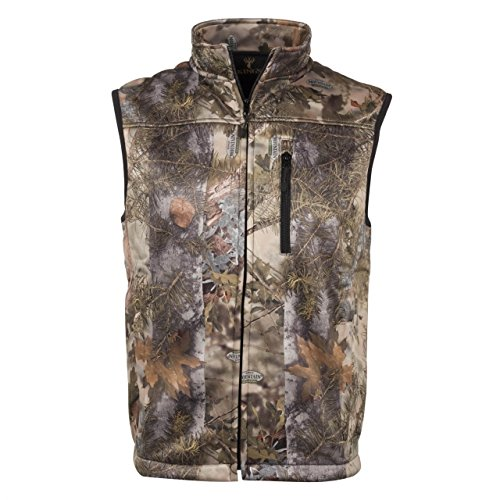 King's Camo Men's Mountain Shadow Hunter Soft Shell Vest, Camo, Large by King's Camo