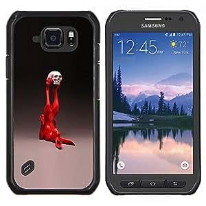 Stuss Case / Funda Carcasa protectora - Pop Art Conejo - Samsung Galaxy S6Active Active G890A