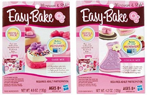 easy-bake-cookie-mix-and-cake-mix-refill-super-pack-bundle