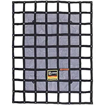 Truck Bed Cargo Net Cam Buckle 500kg//1100lb Reinforced STRONG PACKING PRO