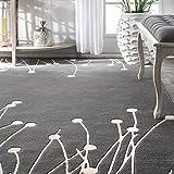 nuLOOM Daza Hand Tufted Wool Rug, 4' x 6', Grey