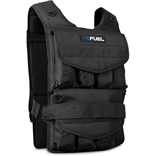 Fuel Pureformance Adjustable Weighted Vest 70 lbs Black HHWV-FL070 by Fuel Pureformance