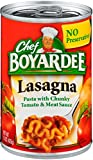 Chef Boyardee Lasagna, 15 oz Can (Pack of 16)