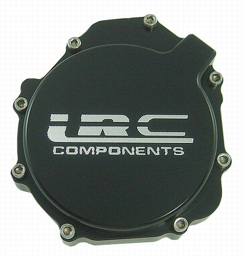 Yana Shiki A2990BLRC Black Billet Solid Engraved with LRC Stator Cover for Suzuki GSX-R ()