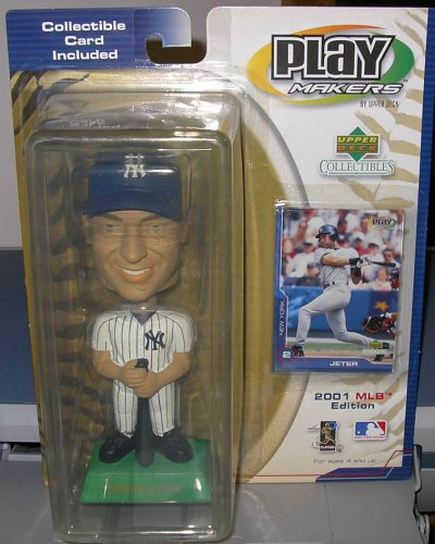 (UPPER DECK PLAYMAKERS DEREK JETER BOBBLEHEAD 2001 by Upper Deck )