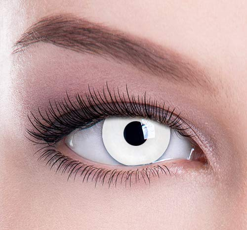 New Eyes Eyes Color Contacts Lens Eyes Cosmetic Makeup Eye Shadow White -