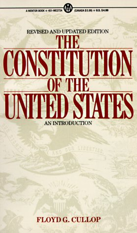 The Constitution of the United States: An Introduction, Revised and Updated Edition (Mentor)
