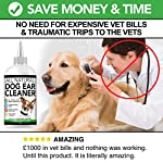 All Natural Dog Ear Cleaner | 250ml | Works in 2-3 Days | Eliminates Smells, Itching & Discomfort | Voted the Best…