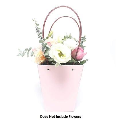 Amazon.com: Ramo de flores bolsas de regalo, 10 piezas Kraft ...