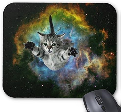 Sjfy Cosmic Purple Cats Mouse Mat Meme Cat Computer Amazon De Elektronik
