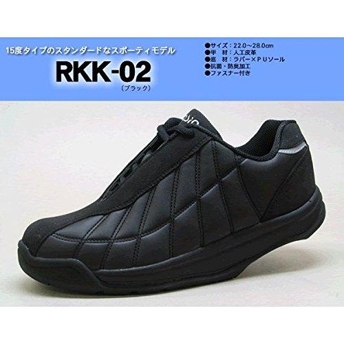 ヒット正当化する密度かかとのない健康シューズ ロシオ RKK-02 ブラック 26.5cm