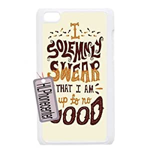 Personalized Unique Design Case for Ipod Touch 4, Harry Potter quote Cover Case - HL-2045738