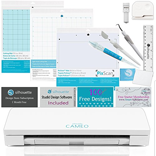 Silhouette Cameo 3 Just the Basics Bundle by Silhouette America