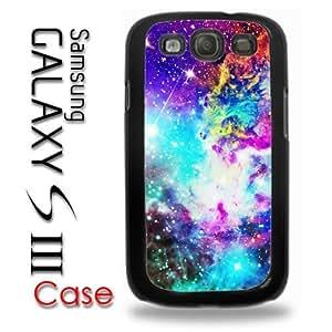 Samsung Galaxy S3 Plastic Case - Galaxy Nebula Colorful Fox Galaxy Stars