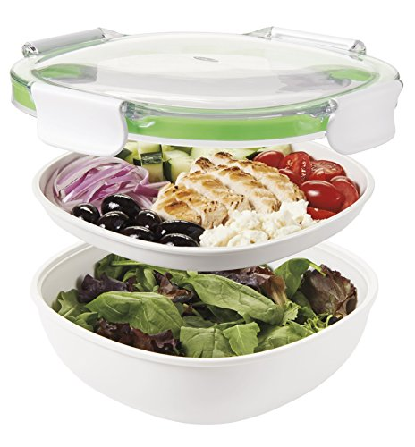 - OXO Good Grips Leakproof On-The-Go Salad Container