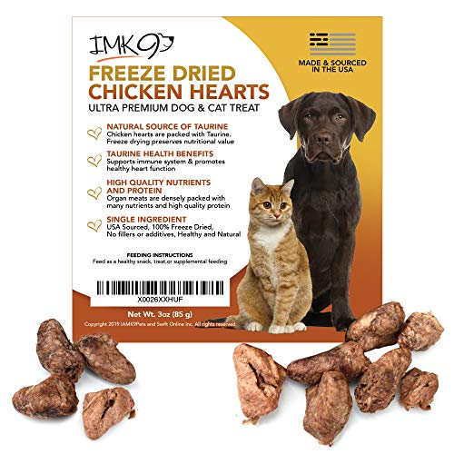 Natural Chicken Heart Treats Freeze product image