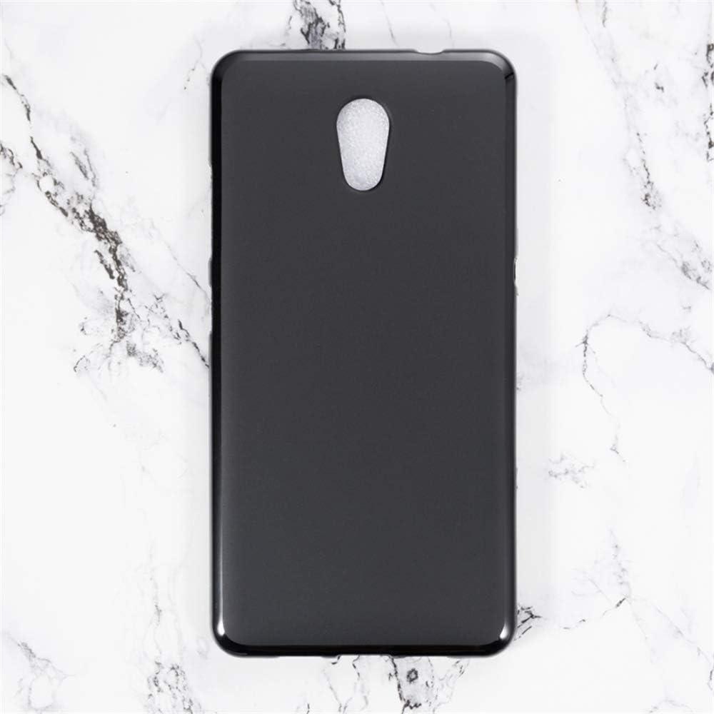 Lenovo P2 Case, Scratch Resistant Soft TPU Back Cover Shockproof Silicone Gel Rubber Bumper Anti-Fingerprints Full-Body Protective Case Cover for Lenovo P2 (Black)