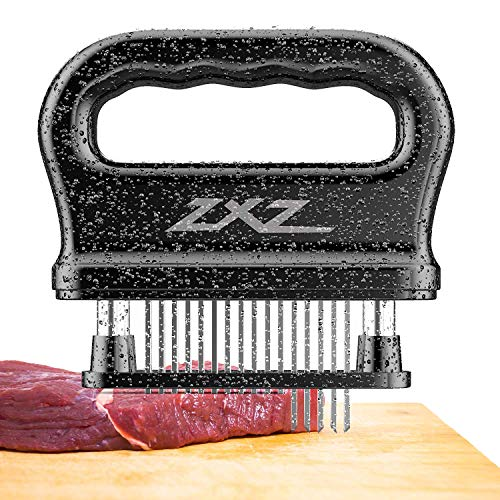 Meat Tenderizer, 48 Stainless Steel Sharp Needle Blade, Heavy Duty Cooking Tool for Tenderizing Beef, Turkey, Chicken, Steak, Veal, Pork, Fish, Christmas Cooking Set