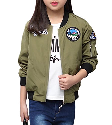 Patchwork Girls Jacket - 1
