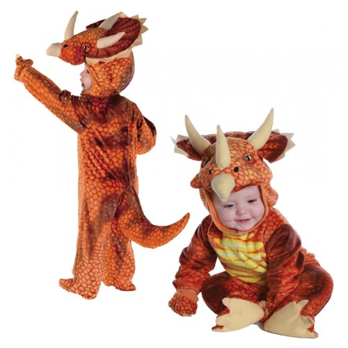 [Triceratops Costume (Boy - Infant & Toddler 18 Months -2T)] (Triceratops Halloween Costume)