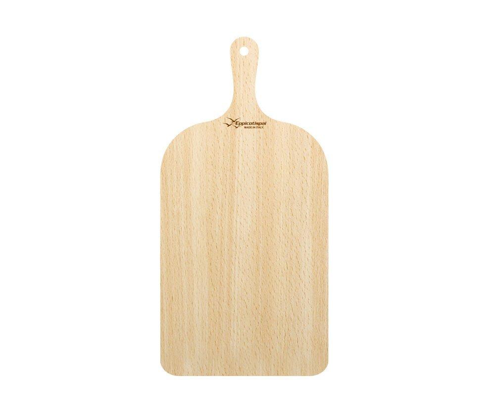 "Eppicotispai Birchwood Pizza Peel, 23 x 50 cm/9.05 x 19.7"", Brown"