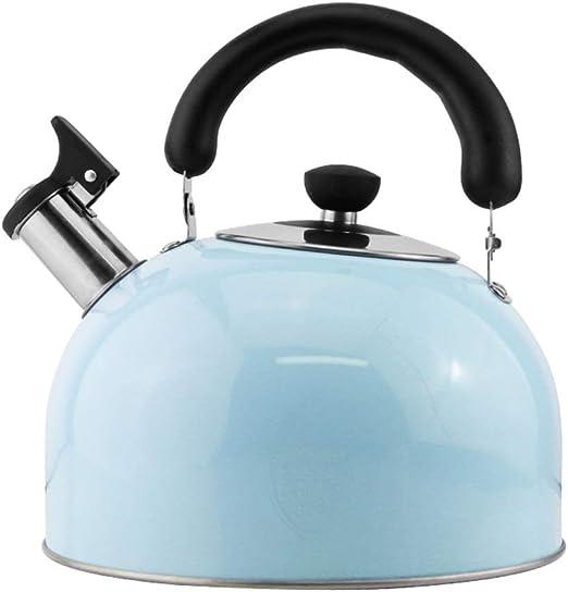 Wasserkessel  Aluminium 1,3 L Flötenkessel Teekessel Wasserkocher Grün