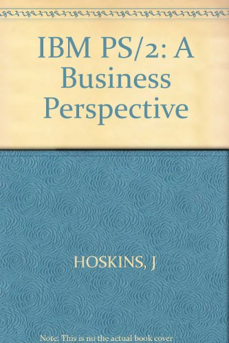 IBM PS/2: A Business Perspective