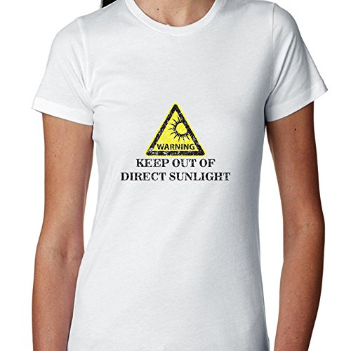 warning-keep-out-of-direct-sunlight-funny-beach-design-womens-cotton-t-shirt