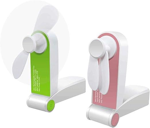 Ventilador de mano, Deasen Ventilador portátil pequeño paquete de ...