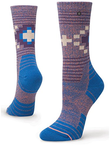 Stance Bezel Outdoor Crew Socks - Women's Blue Medium by Stance