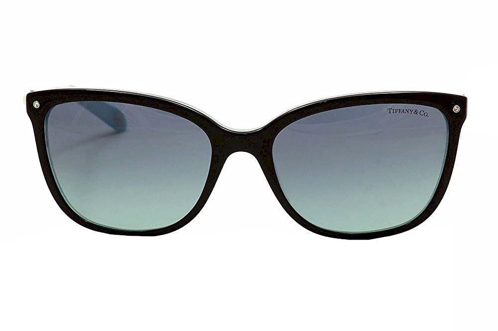 cdfdb439cb0 Amazon.com  Tiffany TF4105HB 8193 9S Black Striped Blue - Blue Gradient  Lens  Tiffany  Clothing