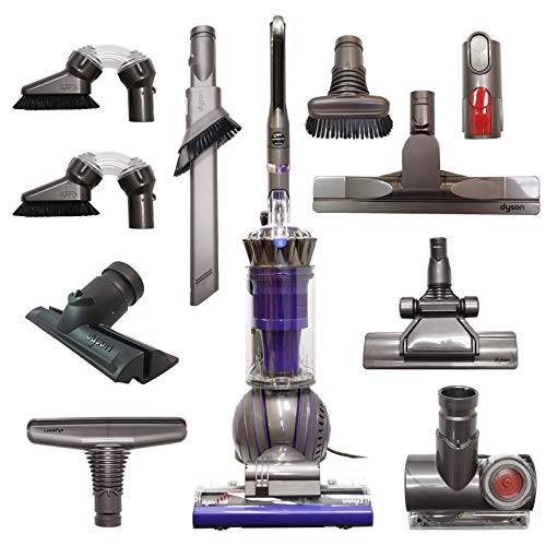 Dyson Ball Animal 2 Corded Upright Vacuum with 10 Tools Including Floor & Ceiling Kit and Home Cleaning Kit | HEPA Filtered – Purple