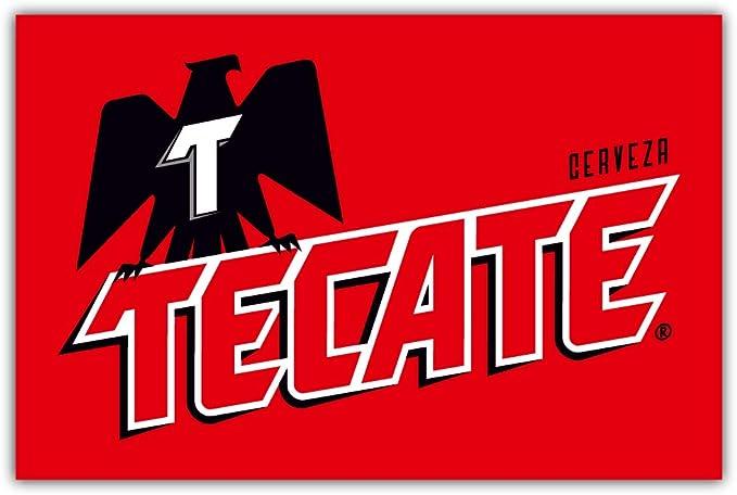 "Tecate Beer Logo Sticker Decal Bumper Window CHOOSE SIZE 3/""-12/"""
