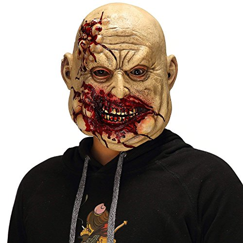 Scary Halloween The Walking Dead Cosplay Props, Horror Bloody Butcher Mask