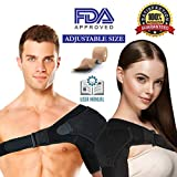 Shoulder Brace Rotator Cuff Support for Men and Women for Injury Prevention, Dislocated