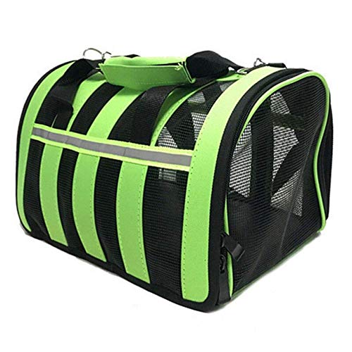 QQW Airline Approved/Travel Transport Pet Carrier/Washable/ 2018 Newly Designed/Pet Purse/Travel Tote/Kennel Cab/Foldable/Portable Pet Crate/Safety/Shoulder Suitcase Straps