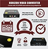 Horizon Video HV1080 PAL/NTSC/SECAM Video Converter with HDMI 1080p-Full HD with ACUPWR Plug Kit