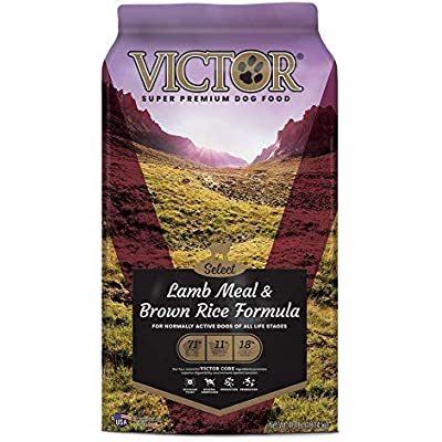 Victor Dog Food Select Lamb Meal And Brown Rice With Chicken Meal