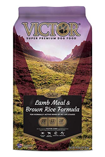 VICTOR Select - Lamb Meal & Brown Rice Formula, Dry Dog Food