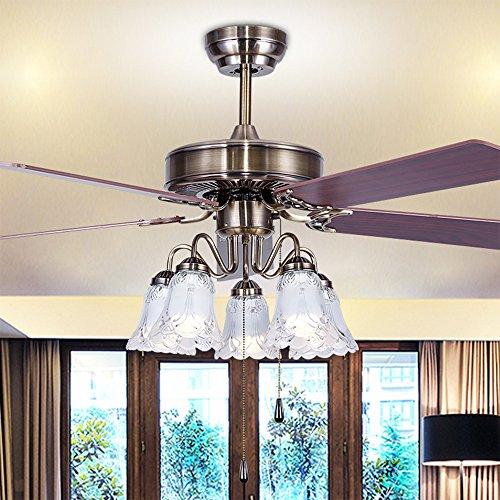 52 yellow ceiling fan - 8