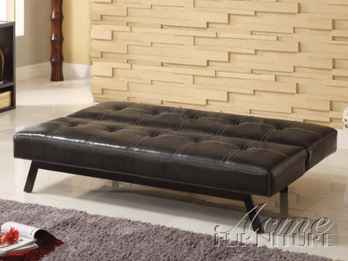 Acme 15298 Modern Espresso PU Sleeper Sofa