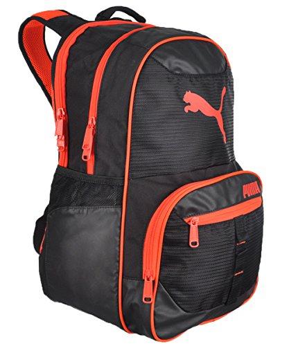 Puma Men's Acumen 19.5 Inch Backpack, Black/Red, One