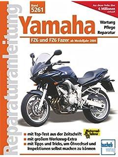 Pleasing Yamaha Fz6 Fazer 04 08 Haynes Service And Repair Manual Amazon De Wiring Database Gramgelartorg