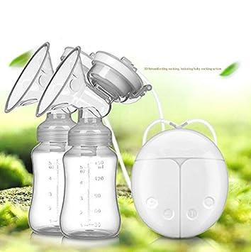 Amazon.com: Extractor de leche eléctrico, vofo Dual Bomba de ...