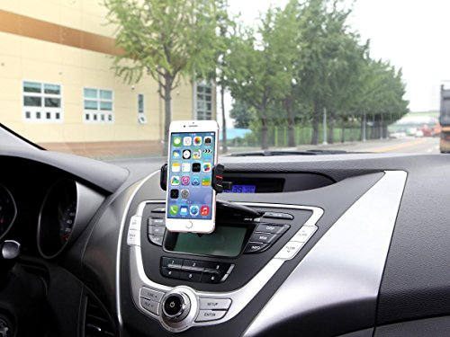 Exogear EGEM-TCD Exomount Touch CD Car mount car holder with One Touch Mounting Technology for ALL iPhones and ALL Samsung Galaxy Phones (includes all other smartphones and cell phones from 3.5 to 6.2